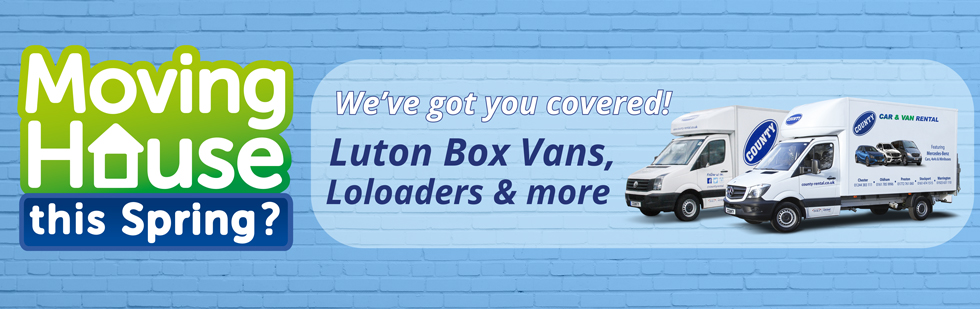 Luton Box Vans for Moving House