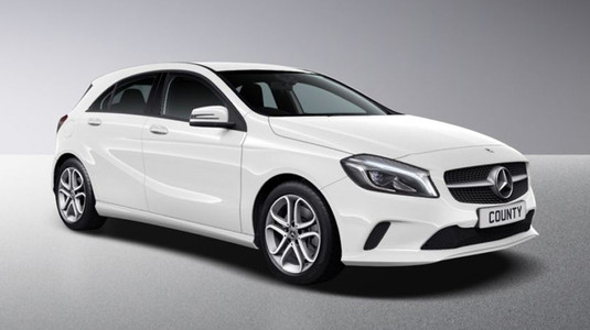 Mercedes A Class Diesel 5 Door with Sat Nav for Hire