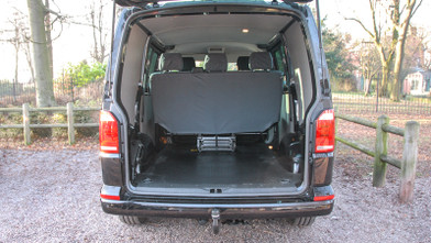 VW Kombi Highline Rear Open