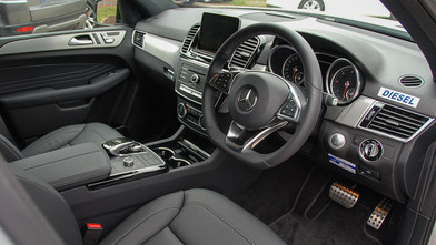 Mercedes benz GLE Interior