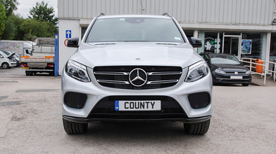 Mercedes benz GLE Front View