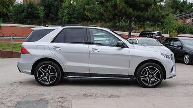 Mercedes benz GLE Side View