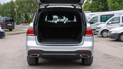 Mercedes benz GLE Boot Open