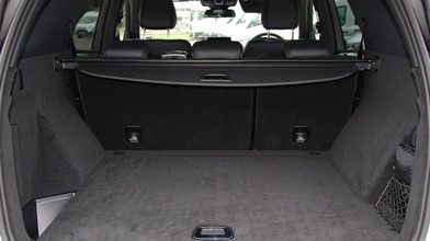 Mercedes benz GLE Boot Space