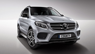 Mercedes benz GLE Front