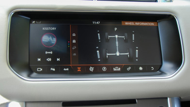 Range Rover Sport HSE Automatic SDV6 Vehicle Management