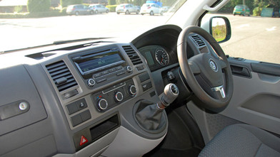 VW Transporter Business First Interior