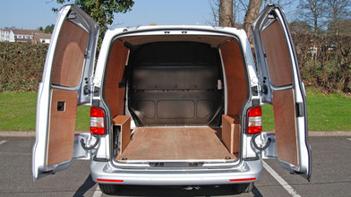 VW Transporter Business First Rear Loading Space