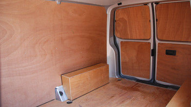 VW Transporter Business First Ply-lined Load Space
