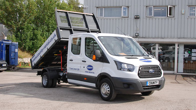 Ford Transit Double Cab One-Stop-Shop 7 Seat Tipper