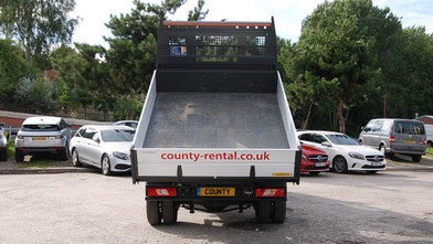Ford Transit Double Cab One-Stop-Shop 7 Seat Tipper Rear Closed