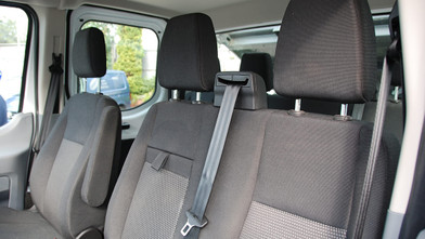Ford Transit Double Cab One-Stop-Shop 7 Seat Tipper Front Seats
