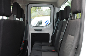 Ford Transit Double Cab One-Stop-Shop 7 Seat Tipper Rear Seats
