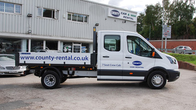 Ford Transit Double Cab One-Stop-Shop 7 Seat Tipper Side