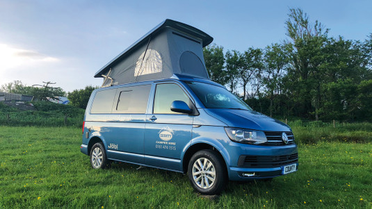 VW Campervan for hire   County Car & Van Rental