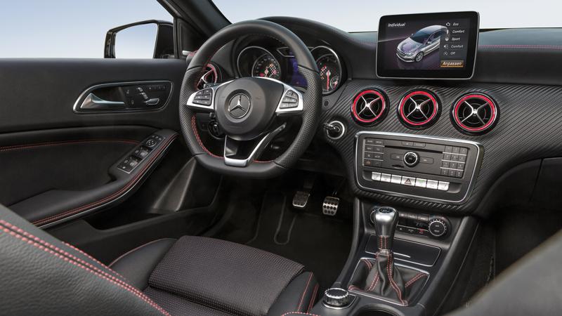 Mercedes benz a class a200 amg line automatic 5dr on for Mercedes a klasse amg interieur