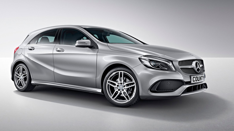 mercedes benz a class a200 amg line automatic 5dr on contract hire county car van rental. Black Bedroom Furniture Sets. Home Design Ideas