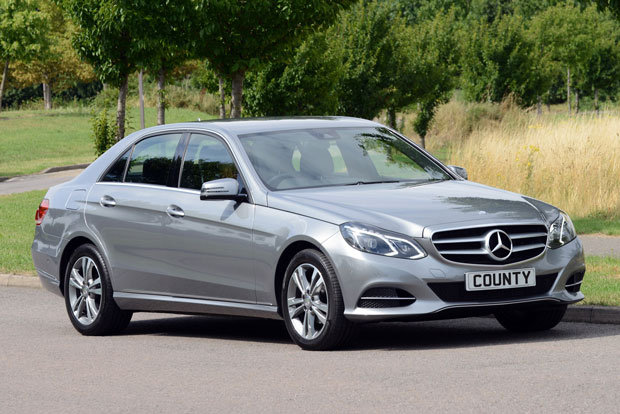 Mercedes-Benz E220 Saloon Tenorite Grey