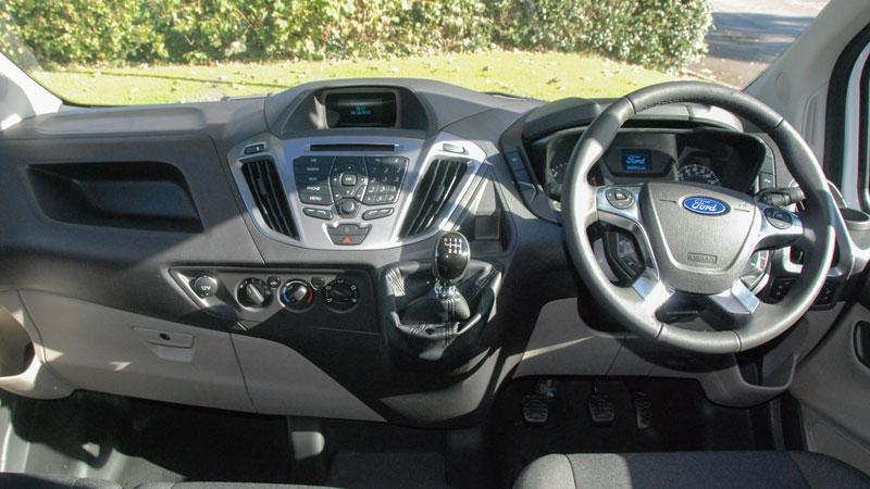 Ford transit custom limited 6 seat swb crew van for hire county car van rental