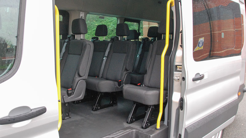 ford transit 17 seat executive minibus for hire county car van rental. Black Bedroom Furniture Sets. Home Design Ideas