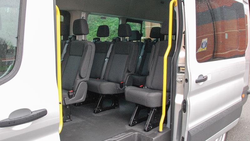 ford transit 17 seat executive minibus for hire county car van rental. Black Bedroom Furniture Sets. Home Design Ideas