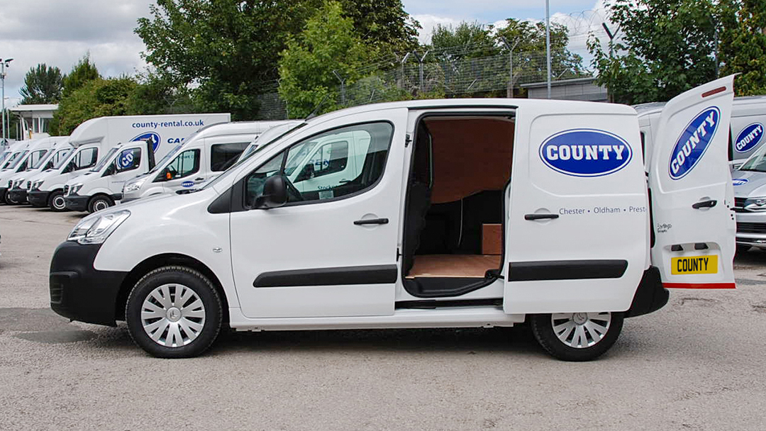 Citroen Berlingo 1 6HDi L1 Enterprise Van on Contract Hire