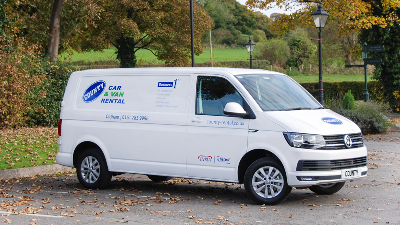Stockport Car Sales >> VW Transporter LWB Business First for hire | County Car & Van Rental