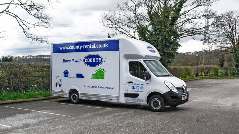 Stockport Car Sales >> Renault Master Luton Loloader LL35 Box Van for hire | County Car & Van Rental