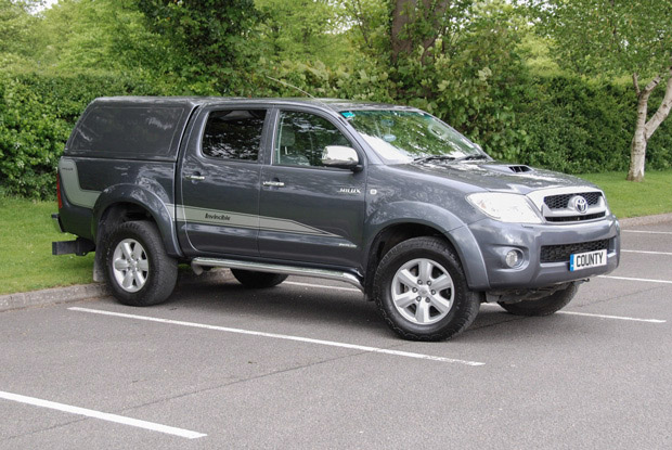 Toyota Hilux Invincible Graphite Grey